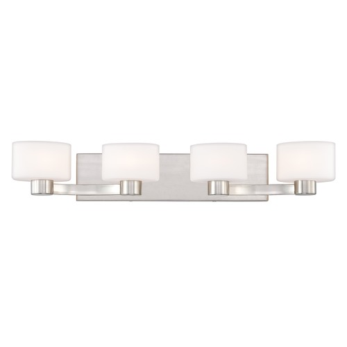 Quoizel Lighting Quoizel Lighting Tatum Brushed Nickel Bathroom Light TU8604BNLED