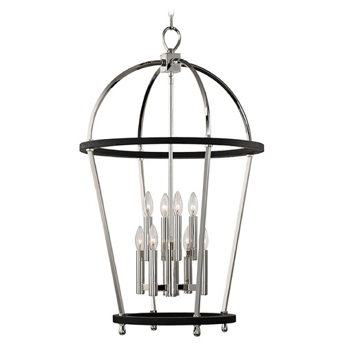 Hudson Valley Lighting Hudson Valley Lighting Chesterfield Polished Nickel Pendant Light 8423-PN