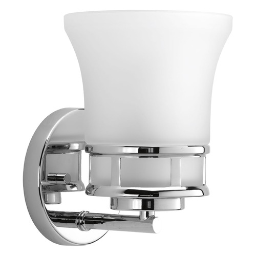 Progress Lighting Progress Lighting Cascadia Polished Chrome Sconce P2146-15