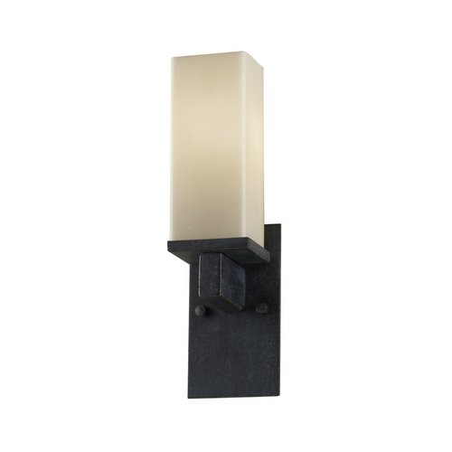 Feiss Lighting Bronze Wall Sconce with Rectangle Shade WB1521AF