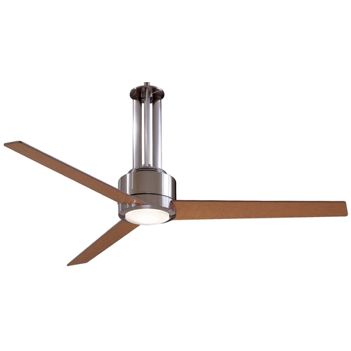 Minka Aire Fans 56-Inch Ceiling Fan with Three Blades and Light Kit F531-L-BN