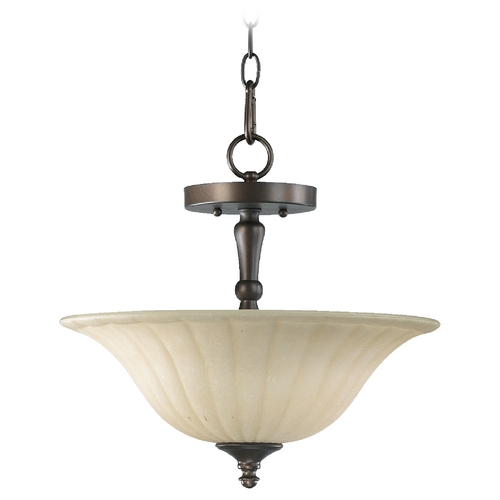 Quorum Lighting Quorum Lighting Randolph Oiled Bronze Pendant Light 2894-16-86