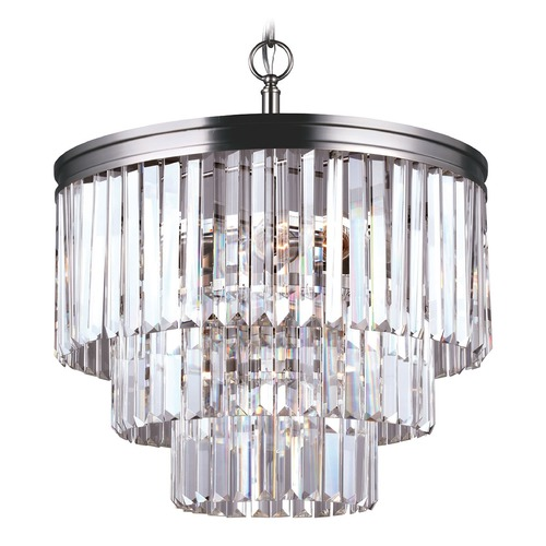 Sea Gull Lighting Sea Gull Lighting Carondelet Antique Brushed Nickel Pendant Light 3114004-965
