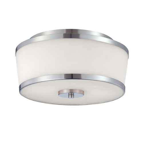Savoy House Savoy House Satin Nickel Flushmount Light 6-4384-13-SN