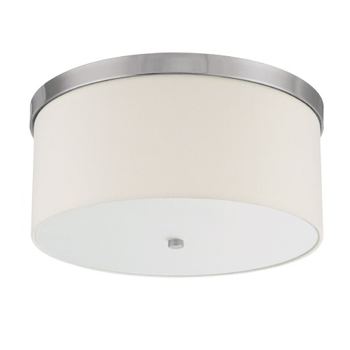 Capital Lighting Capital Lighting Studio Polished Nickel Flushmount Light 2305PN-513