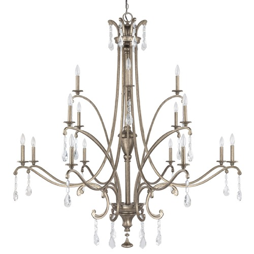 Capital Lighting Capital Lighting Montclaire Mystic Crystal Chandelier 4396MY-000-CR
