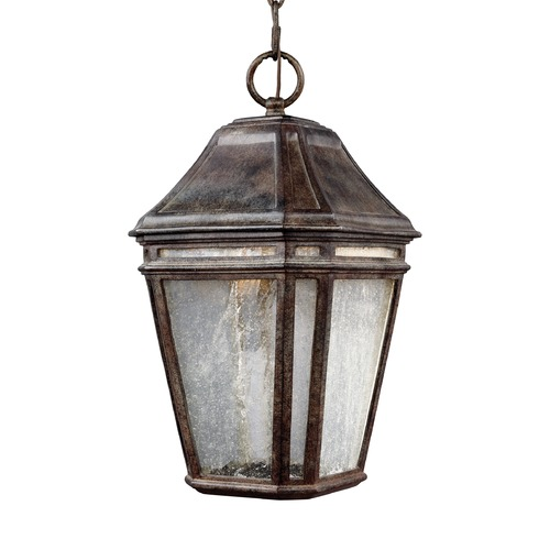 Feiss Lighting Feiss Lighting Londontowne Weathered Chestnut LED Outdoor Hanging Light OL11309WCT-LED