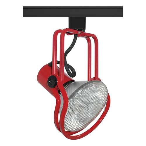 Juno Lighting Group Track Light Head in Red Finish T435RD