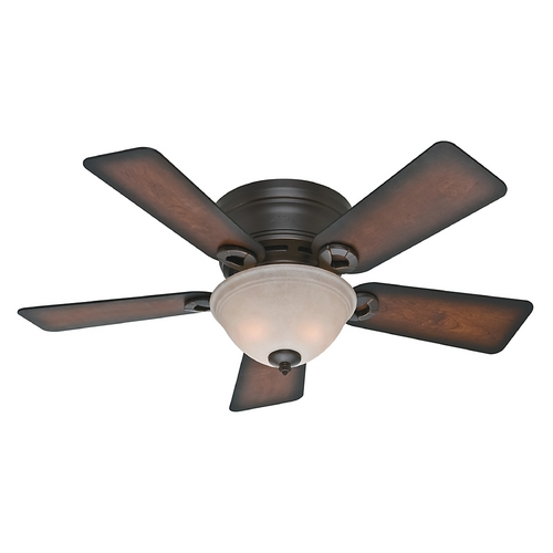 Hunter Fan Company 42-Inch Hunter Fan Conroy Onyx Bengal Ceiling Fan with Light 51023