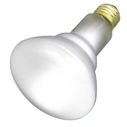 Satco Lighting Incandescent BR30 Light Bulb Medium Base 130V by Satco S3417