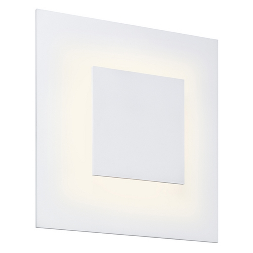 Sonneman Lighting Sonneman Lighting Center Textured White LED Sconce 2368.98