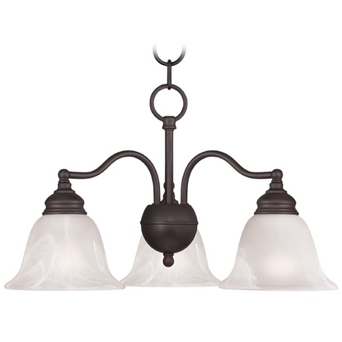 Livex Lighting Livex Lighting Essex Bronze Mini-Chandelier 1343-07
