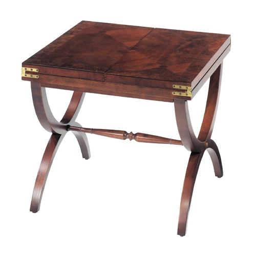 Sterling Lighting Sterling Lighting Vintage Mahogany Accent Table 6001566