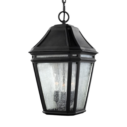 Feiss Lighting Feiss Lighting Londontowne Black Outdoor Hanging Light OL11311BK