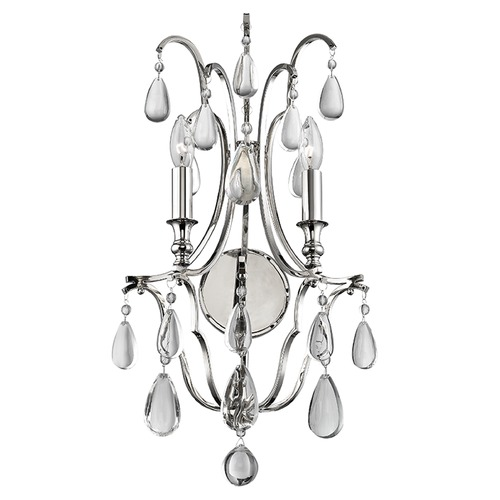 Hudson Valley Lighting Hudson Valley Lighting Crawford Polished Nickel Sconce 9302-PN