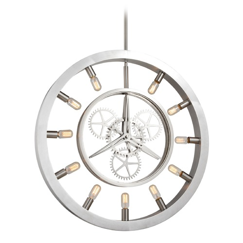 Elk Lighting Elk Lighting Chronology Brushed Nickel Pendant Light 32236/11