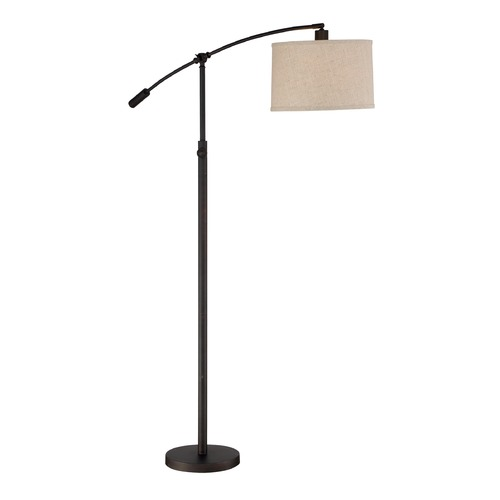 Quoizel Lighting Quoizel Lighting Clift Oil Rubbed Bronze Floor Lamp with Drum Shade CFT9364OI