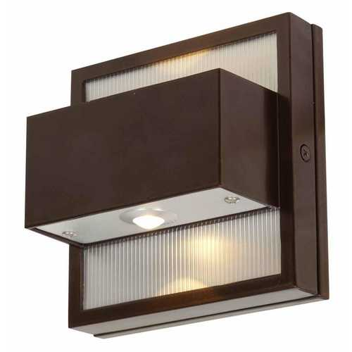 Access Lighting LED Outdoor Wall Light in Bronze Finish 23064LEDMG-BRZ