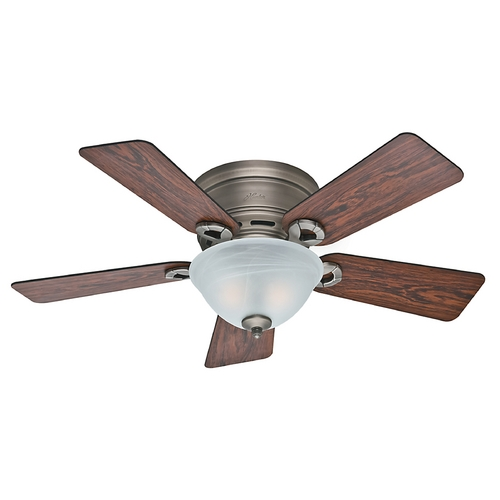 Hunter Fan Company 42-Inch Hunter Fan Conroy Antique Pewter Ceiling Fan with Light 51024