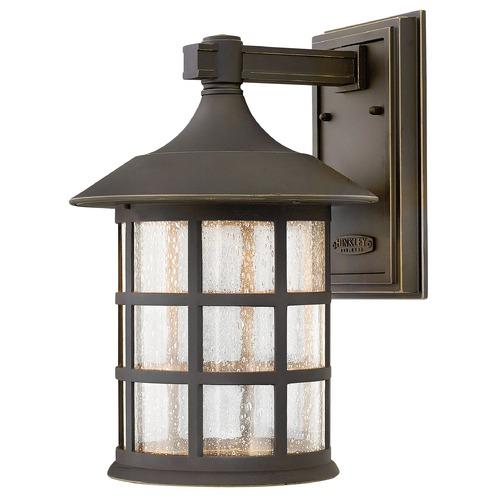 Hinkley Lighting LED Outdoor Wall Light with Clear Glass in Oil Rubbed Bronze Finish 1805OZ-LED