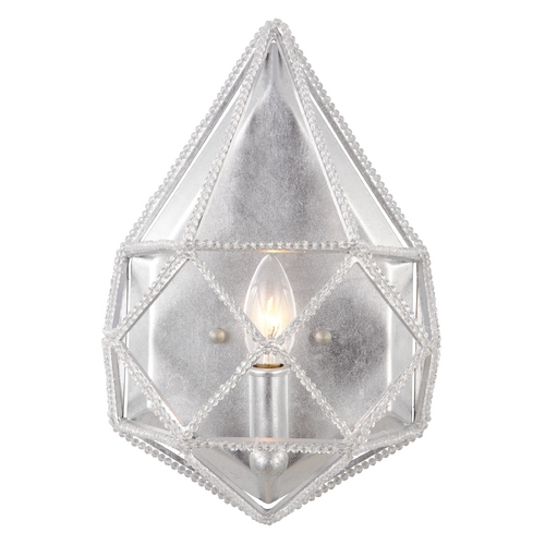 Feiss Lighting Feiss Lighting Marquise Silver Sconce WB1734SLV