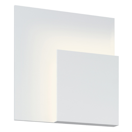 Sonneman Lighting Sonneman Lighting Corner Textured White LED Sconce 2369.98