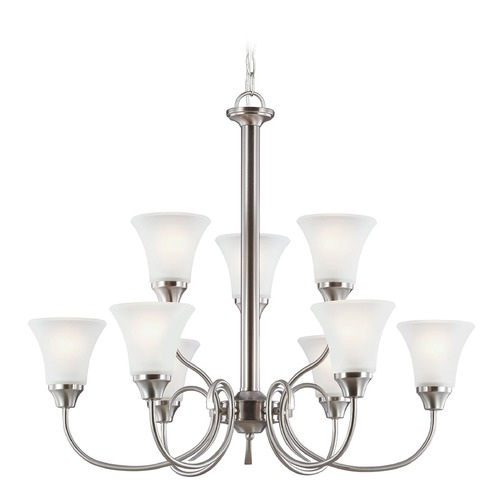 Sea Gull Lighting Sea Gull Lighting Holman Brushed Nickel Chandelier 31810-962