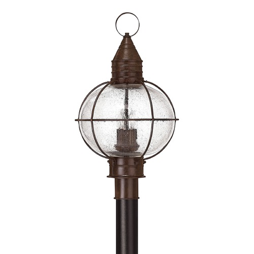 Hinkley Lighting Hinkley Lighting Capecod Sienna Bronze LED Post Light 2201SZ-LED