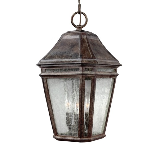 Feiss Lighting Feiss Lighting Londontowne Weathered Chestnut Outdoor Hanging Light OL11311WCT