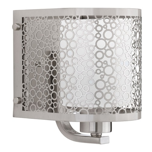 Progress Lighting Progress Lighting Mingle Brushed Nickel Sconce P2161-09