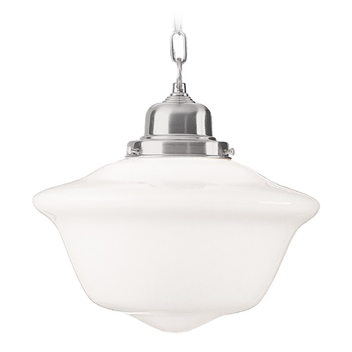 Hudson Valley Lighting Hudson Valley Lighting Edison Collection Satin Nickel Pendant Light 1615-SN