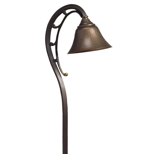 Kichler Lighting Kichler Path Light with White Glass in Olde Bronze Finish 15436OZ