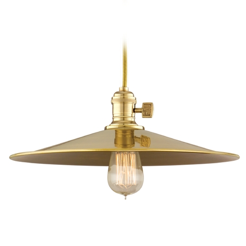 Hudson Valley Lighting Pendant Light in Aged Brass Finish 8001-AGB-MM1