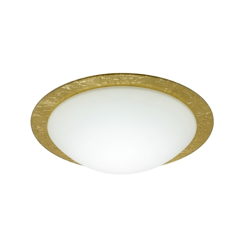 Besa Lighting Flushmount Light White Glass by Besa Lighting 9771GFC