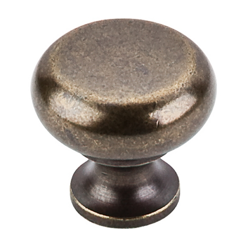 Top Knobs Hardware Modern Cabinet Knob in German Bronze Finish M276