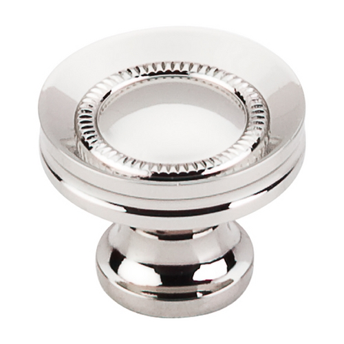 Top Knobs Hardware Cabinet Knob in Polished Nickel Finish M1325