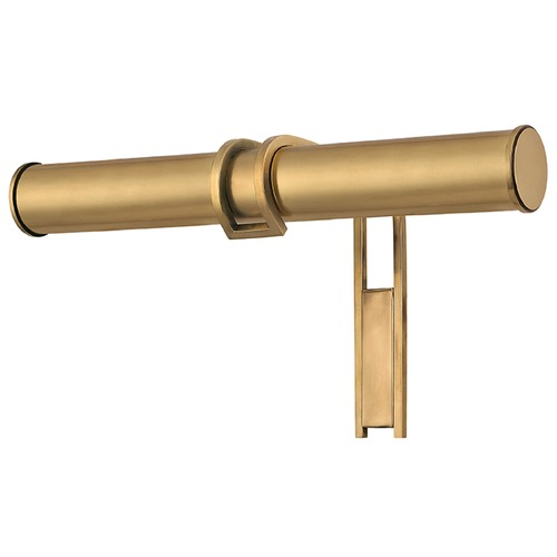 Hudson Valley Lighting Brock 2 Light Picture Light - Aged Brass 9516-AGB