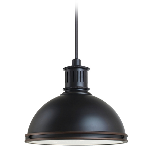 Sea Gull Lighting Pendant Light in Autumn Bronze Finish 65087BLE-715