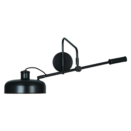 Robert Abbey Lighting Mid-Century Modern Swing Arm Wall Lamp Bronze Albert by Robert Abbey Z749