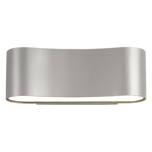 Sonneman Lighting Sonneman Lighting Corso Bright Satin Aluminum LED Sconce 1725.16