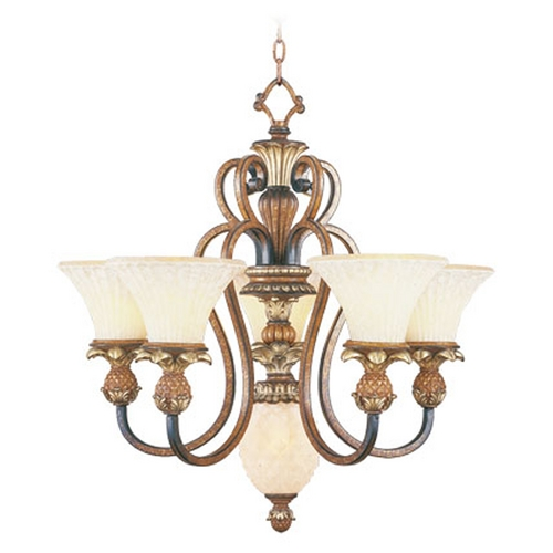 Livex Lighting Livex Lighting Savannah Venetian Patina Chandelier 8485-57