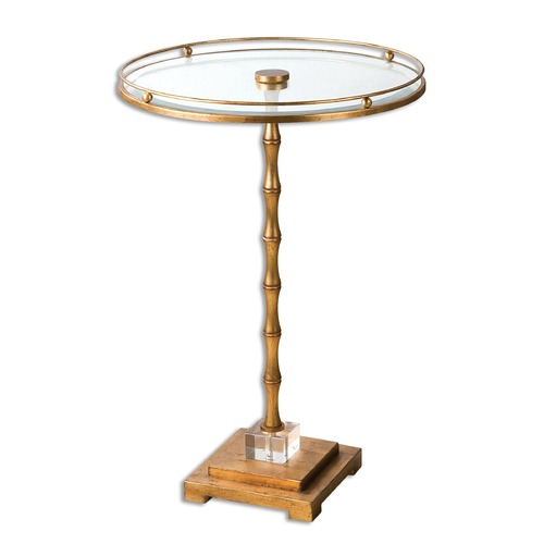 Uttermost Lighting Uttermost Quindici Round Accent Table 24507
