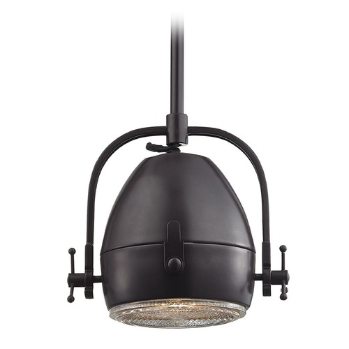 Elk Lighting Elk Lighting Urbano Polished Chrome Pendant Light with Bowl / Dome Shade 17251/1