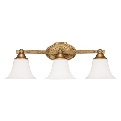 Capital Lighting Capital Lighting Blakely Antique Gold Bathroom Light 8523AG-114