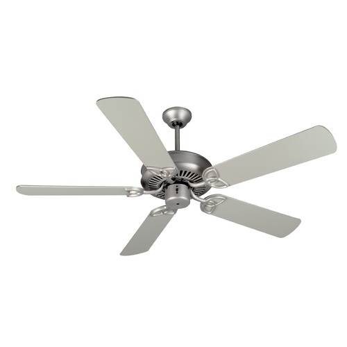 Craftmade Lighting Craftmade Lighting Cxl Brushed Satin Nickel Ceiling Fan Without Light K11007
