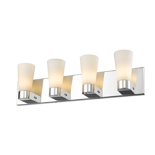Golden Lighting Golden Lighting Cono Chrome Bathroom Light C731-V4-CH