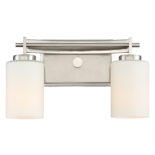 Quoizel Lighting Quoizel Lighting Taylor Brushed Nickel Bathroom Light TY8602BN