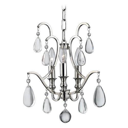 Hudson Valley Lighting Hudson Valley Lighting Crawford Polished Nickel Chandelier 9303-PN