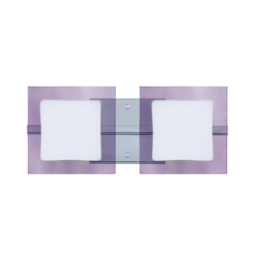 Besa Lighting Besa Lighting Alex Chrome LED Bathroom Light 2WS-773591-LED-CR