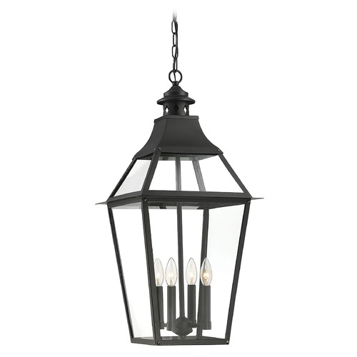 Savoy House Savoy House Lighting Jackson Black Outdoor Hanging Light 5-723-153